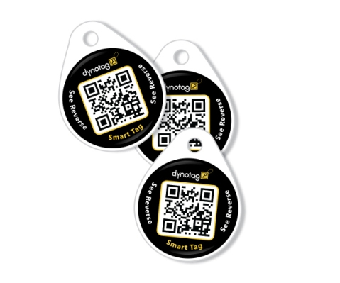Available in sets of 3 Unique Tags