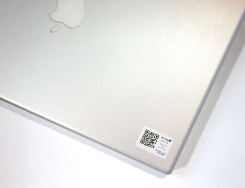 STICKER on laptop h